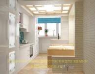 Свет и простор в кухонном интерьере
