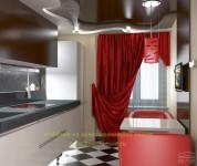 Красный цвет на кухне: агрессия или чувство стиля?