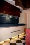 Расположение кухонной мебели вдоль одной стены
