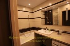 Обстановка в ванной комнате