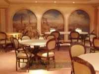 Столы из искусственного камня для ресторанов