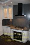 Серый цвет в кухонном интерьере