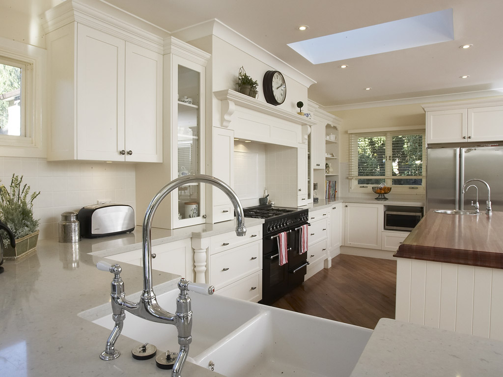 White-kitchen-withg-wooden-furniture