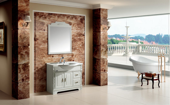 Bathroom Cabinets and Artificial Stone Countertops Factory